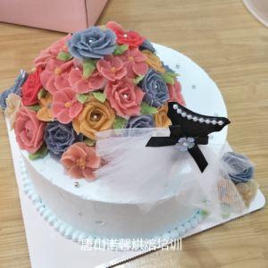 韩式裱花学员作品