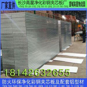 株洲硅岩夹芯板 电子食品医院净化工程用硅岩夹芯板 A级防火硅岩板 硅岩板生产厂家