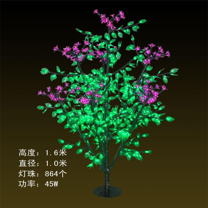 DX-864灯-1.6米-45W丁香  仿真树灯