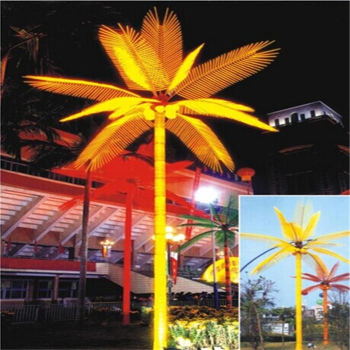 景观树灯 椰树灯5*3-12叶6果180W led树灯 LED景观树灯