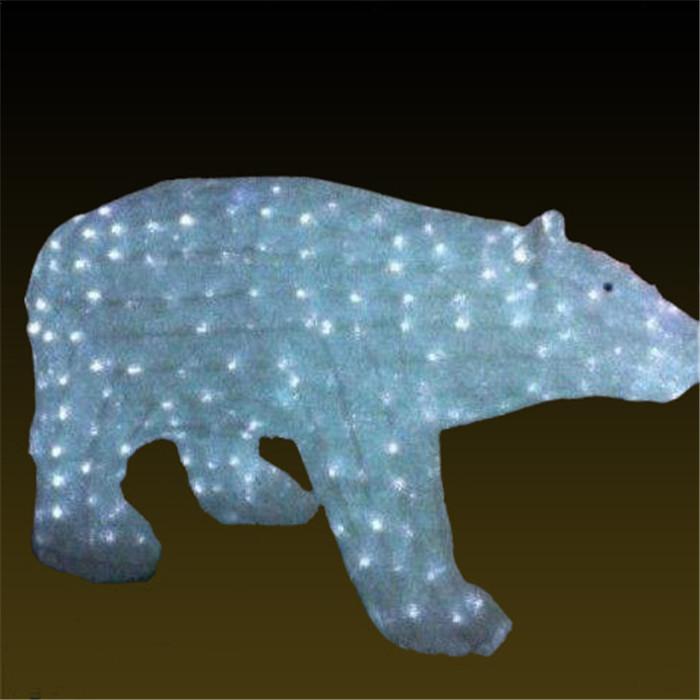110.55.90雪熊  景观树灯厂家