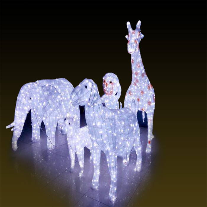 动物组合   led景观灯