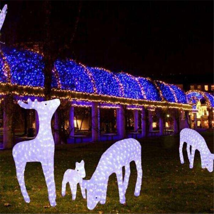鹿 组合   LED景观灯