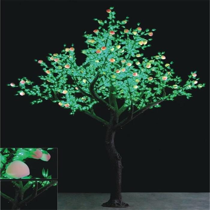 GS-2784灯-3.5米-145W-桃树   led树灯批发