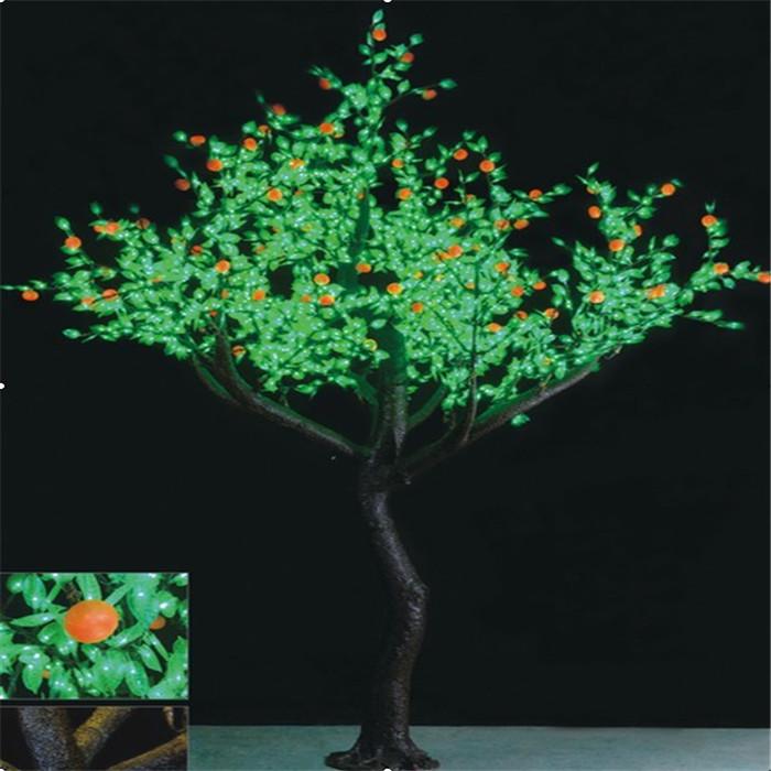 景观树灯2784灯-3.6米橘树LED树灯 LED景观树灯
