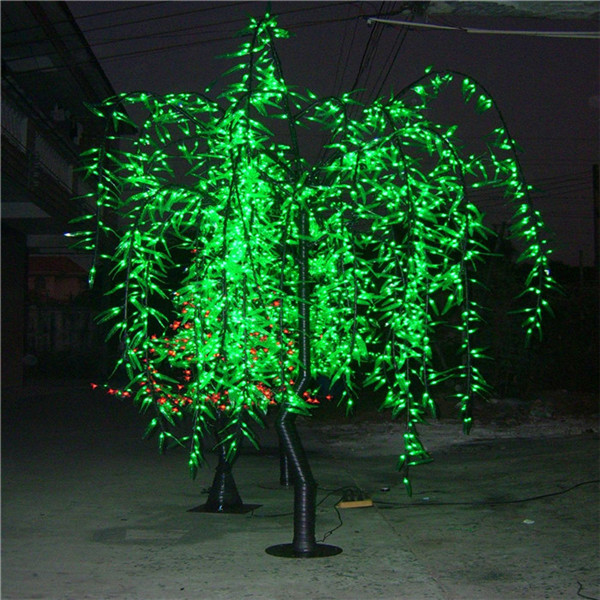 LS-2016灯-2.8米-105W绿柳LED树灯