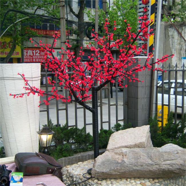 YH-1152灯2.0米红色紫荆花树 树灯厂家