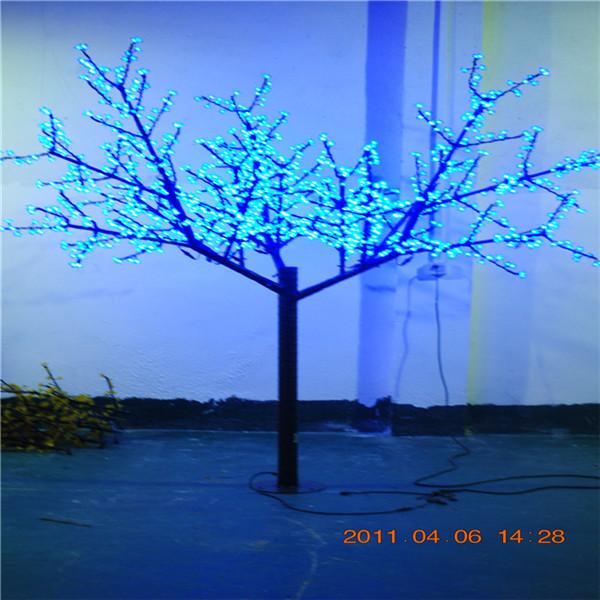 YH-1152灯-2.2米58W蓝色 树灯