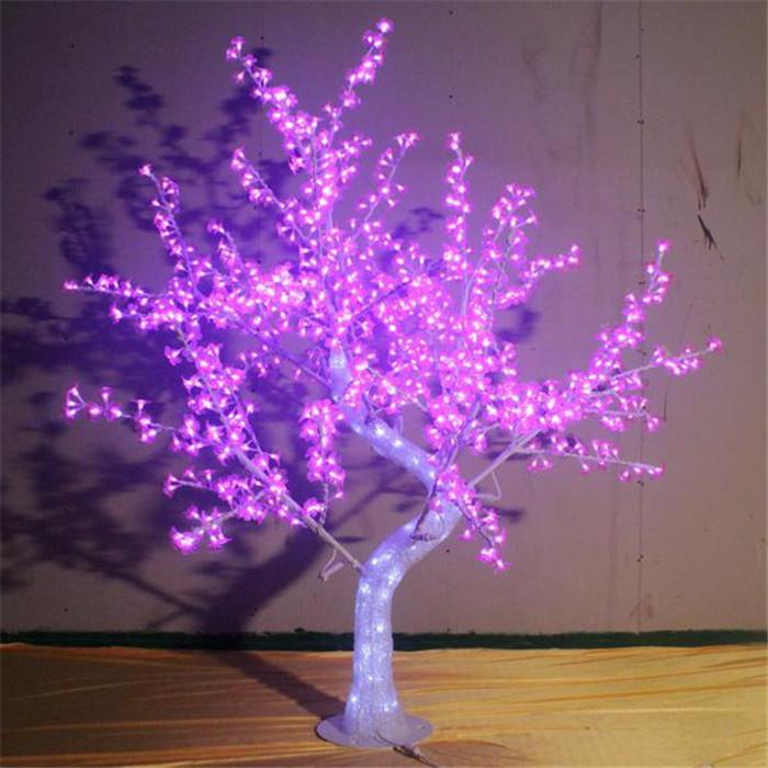 景观树灯1.6米-1.3米宽-864灯发光树-45W LED树灯