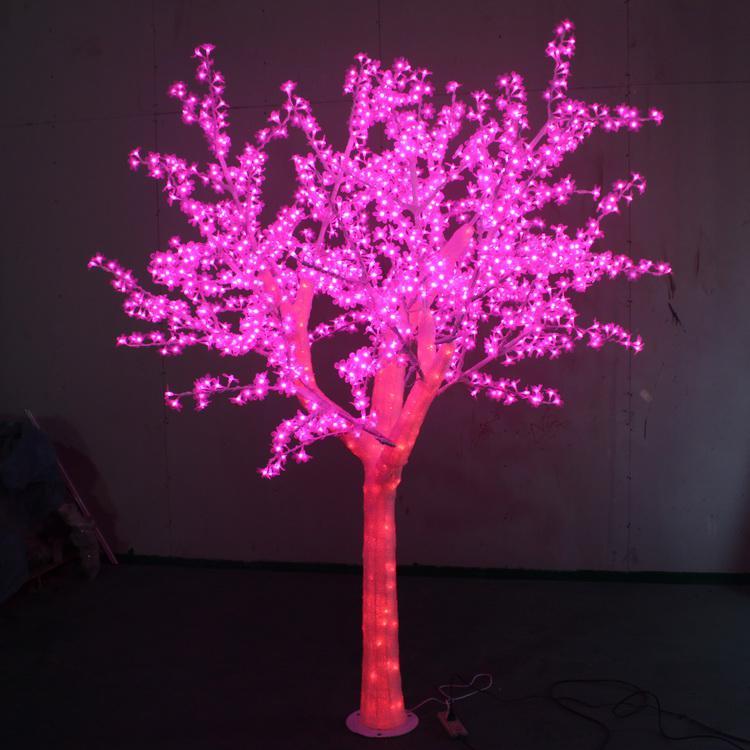 led树灯2.5*2-1536灯-75W 发光树_树灯厂家