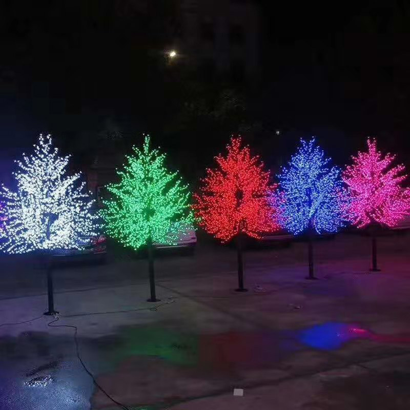 树灯 仿真树灯 yq-塔形-1800灯-2.5米