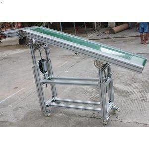 斜平台式小型传送机  东莞流水线维修